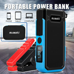 Details About Suaoki 800a 20000mah Portable Car Jump Starter Auto Battery Booster Power Bank