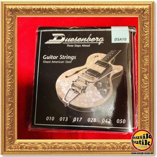 010-050 Duesenberg DSA10 Saitensatz für E-Gitarre