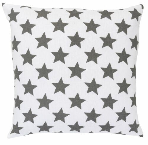 45 x 45 cm étoiles gris 195908 Coussin avec remplissage stars All-over