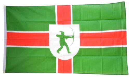 Fahne Großbritannien Nottinghamshire neu Flagge britische Hissflagge 90x150cm