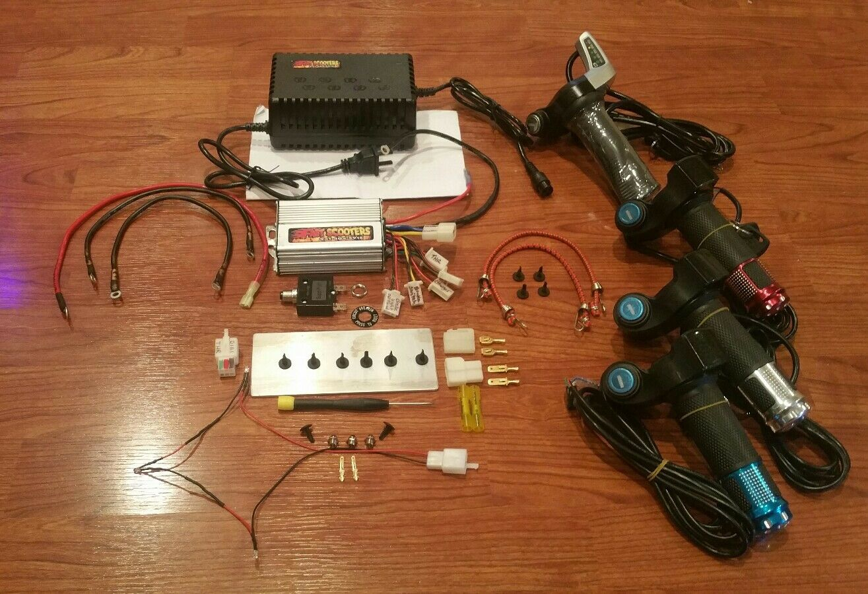 Cruzin Cooler 500 W Hi Performance Power kit-52 Serie - 23mph serie 52.2