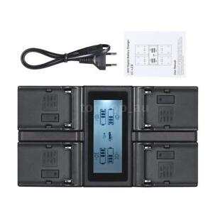 NP-F970-4Channel-Camera-Battery-Charger-LCD-for-SONY-NP-F550-F750-F950-FM50-QM71