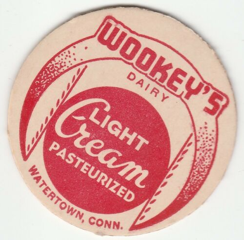 WOOKEY/'S DAIRY WATERTOWN CT. MILK BOTTLE CAP