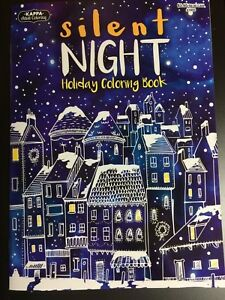 Details About Holiday Adult Coloring Book Silent Night Christmas Brand New Kappa