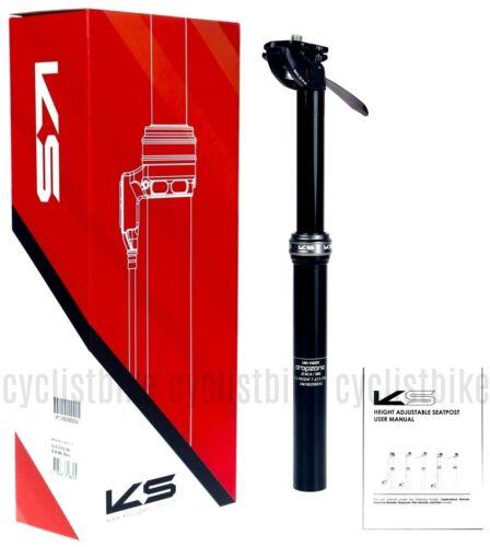 Kind Shock KS Dropzone I900 Adjustable Bike Seatpost 30.9x385//125mm NIB