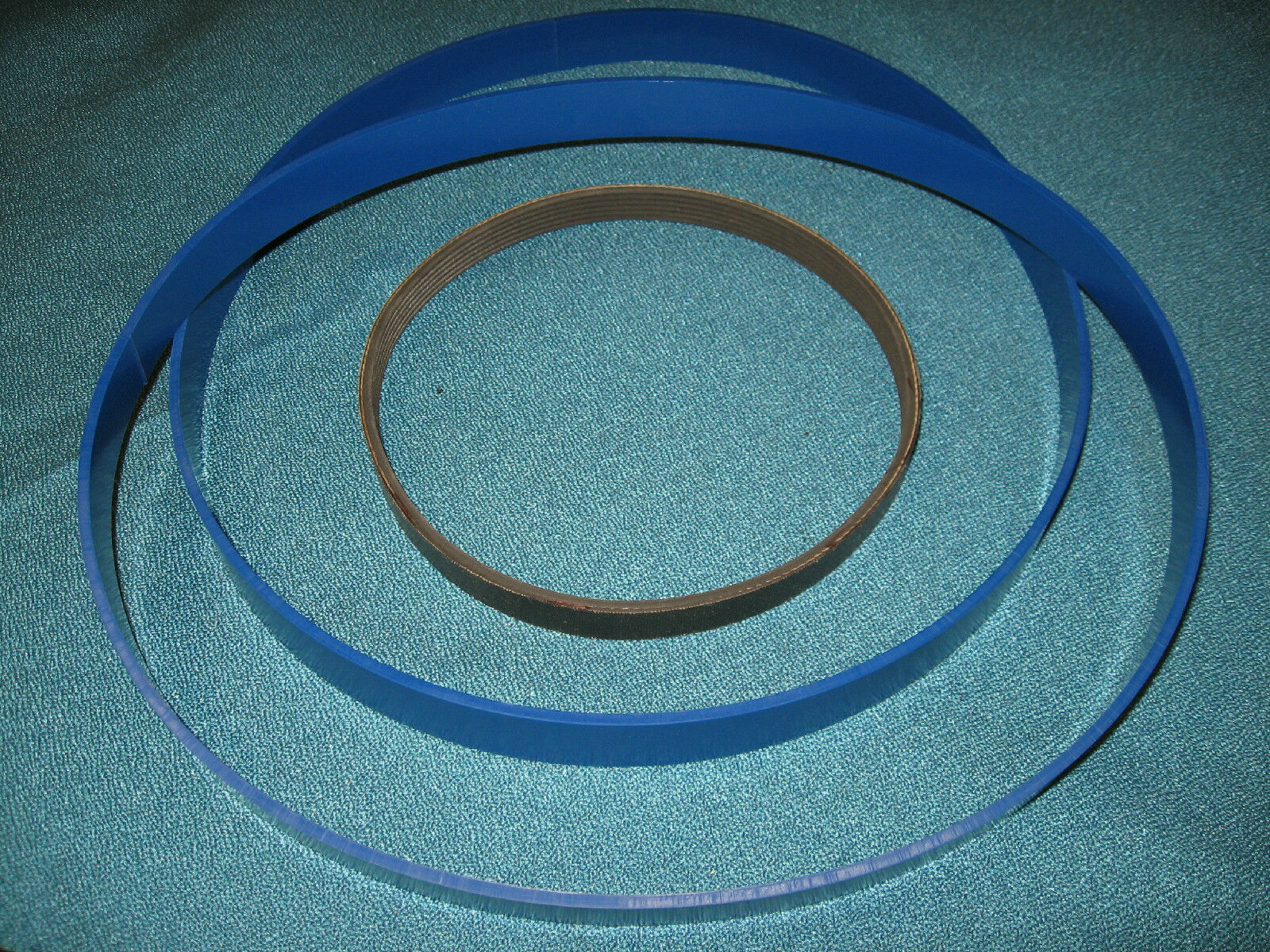 Blau MAX URETHANE BAND SAW TIRES AND DRIVE BELT FOR CRAFTSMAN 113247210 BAND SAW