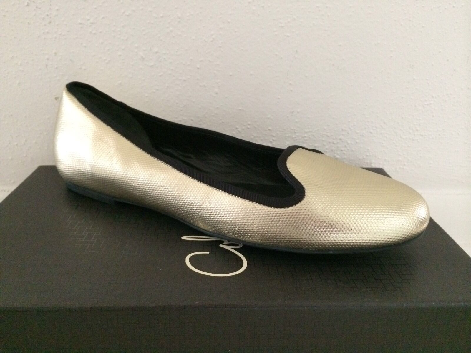BRAND NEW Cole Haan GOLD Leather Ballet Flats 8.5M 8.5M Flats 522b9b