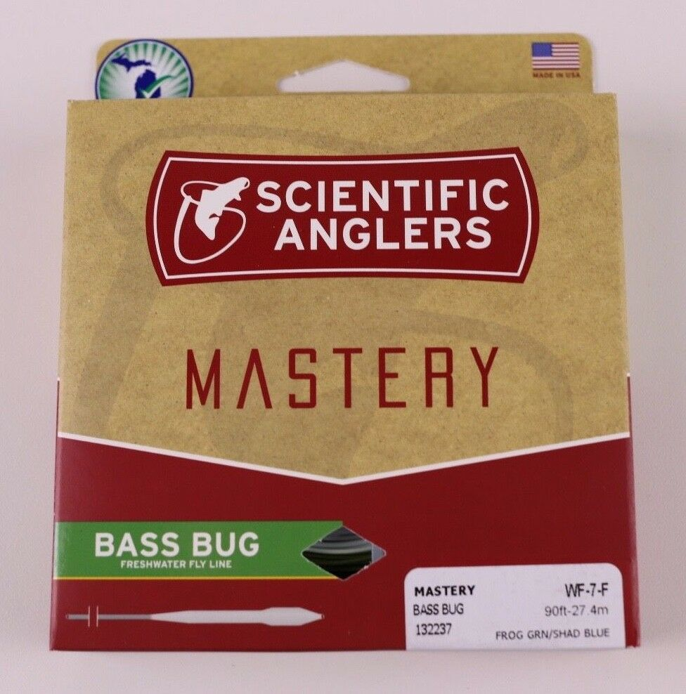 Scientific Anglers Mastery Bass Bug Fly Line WF7F Free Fast Shipping 132237