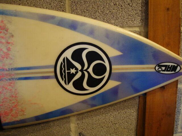 Surfboard hic tunnel vision mac 5'11  x 19 1 4