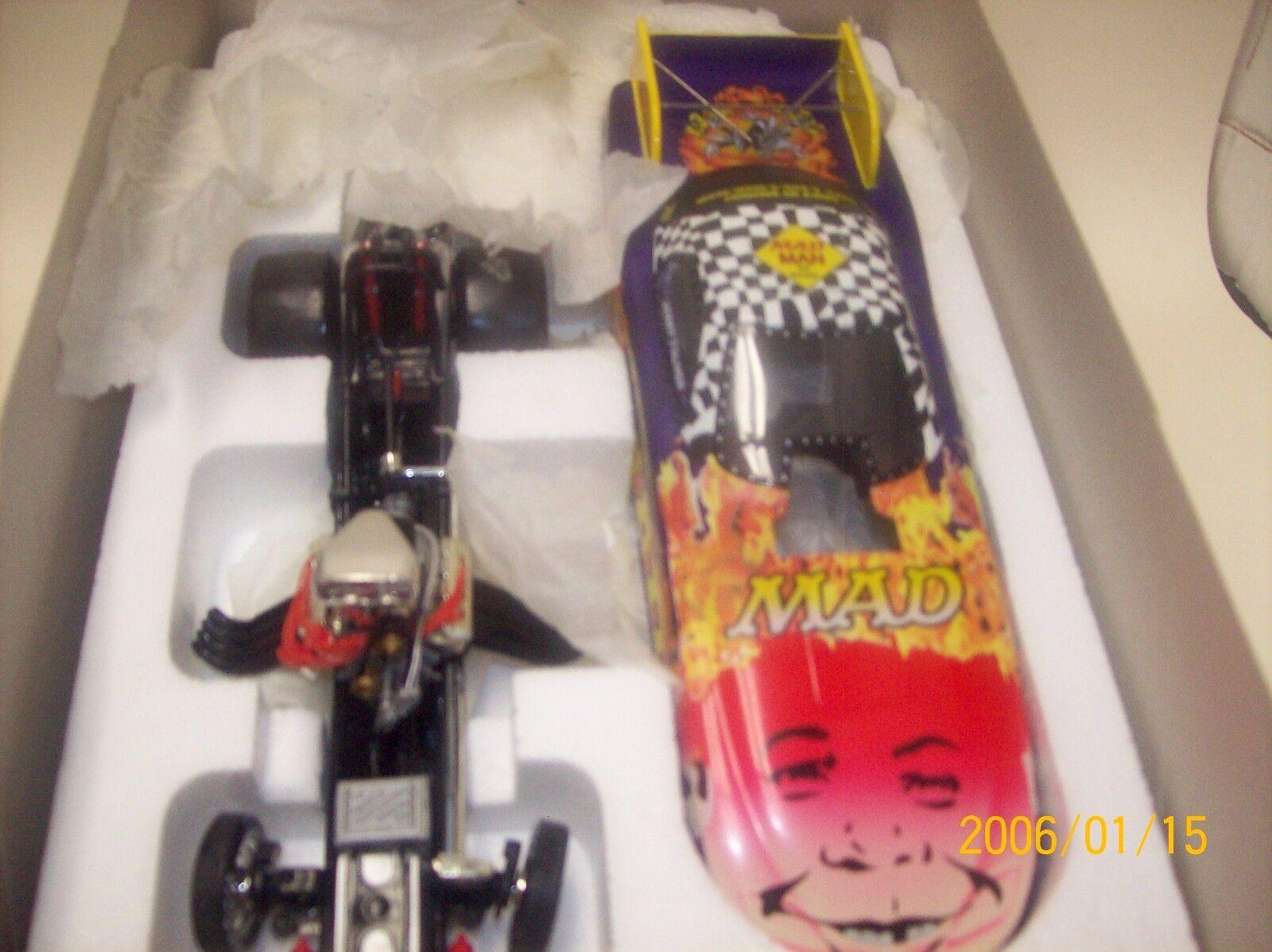 1:24 Action NHRA Funny Car '98 Pontiac Mad Magazine Jerry Toliver