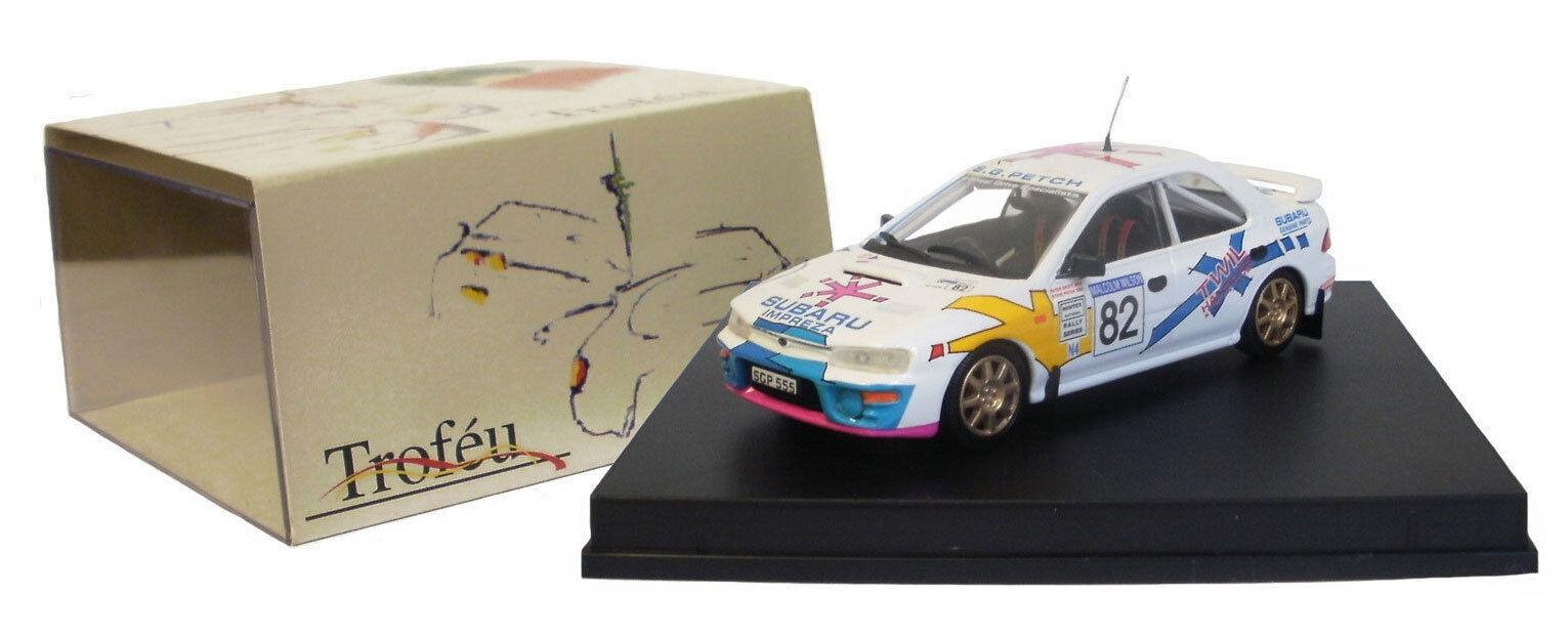 Trofeu 617 Subaru Impreza Malcolm Wilson Rally 1996 - G Petch 1 43 Scale