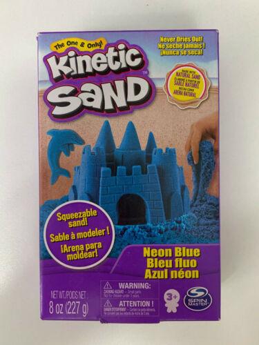 227g 8oz Neon Blue Kinetic Sand