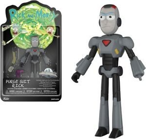 Brand New In Box Funko Purge Suit Rick Action Figure: Rick /& Morty