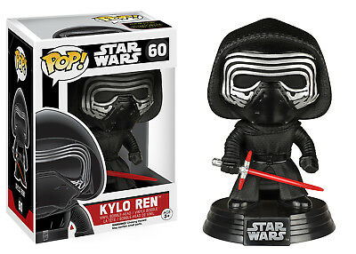Funko POP! #60 Star Wars The Force Awakens KYLO REN Bobble Head Vinyl Figure