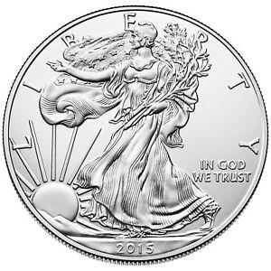 2015 - $1 1oz Silver American Eagle BU