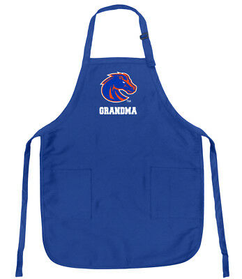 WELL MADE! Boise State Mom Apron BEST BOISE STATE BRONCOS Mother Aprons