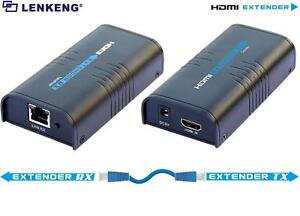 Details about Up to 120M, LKV373A V3 0 HDMI Extender Converter,Over Lan  Cat5/Cat6 1080P/720P