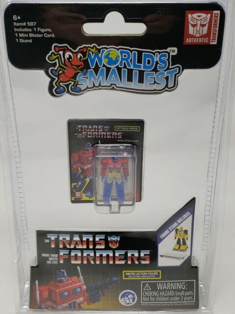 """World/'s Smallest Transformers 1.25/"""" Micro Figurine Optimus Prime G1 1980 S"""