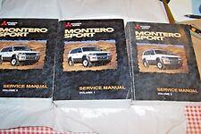 99 mitsubishi montero sport owners manual 1999 ebay rh ebay com 1999 mitsubishi montero sport owners manual pdf 2000 Mitsubishi Montero Sport