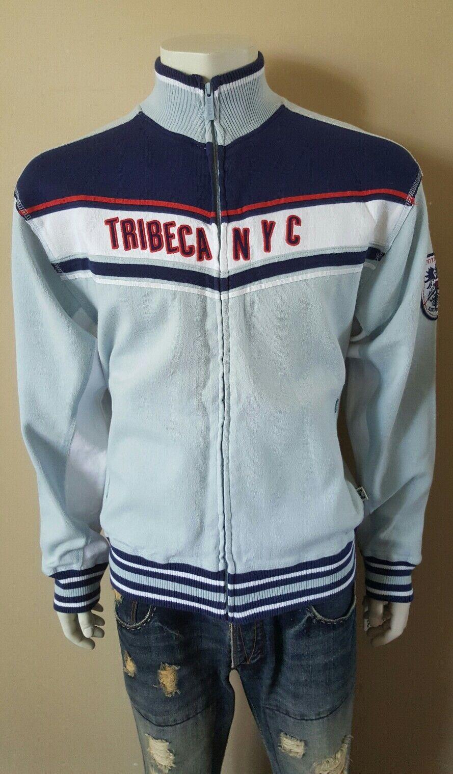 $79 Nwt Blue Marlin VintageTribeca NY Baseball Argentina Soccor Jacket Large