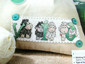 Lost Lamb Chart Counted Cross Stitch Pattern Needlework Xstitch craft DIY DMC