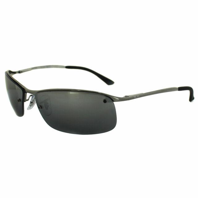 5401a77ec4a Sunglasses Ray-Ban Wrap RB 3183 004 82 63mm Polarized Silver Mirror ...