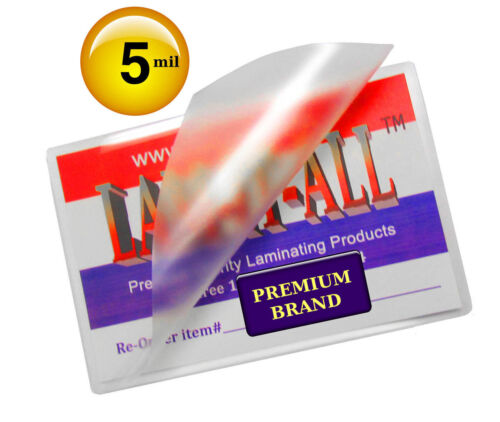 Hot 5 Mil Laminating Pouches for 11x17 Menus 11-1//4 x 17-1//4 by LAM-IT-ALL 200