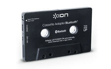 Ion Audio Cassette Bluetooth Adapter Music Receiver for Cassette Deck (Black)NEW