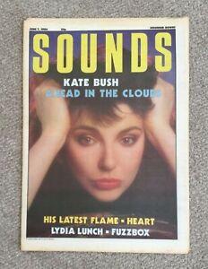 SOUNDS Magazine - 7 June 1986 - KATE BUSH Ahead in the Clouds - Adverts Chart
