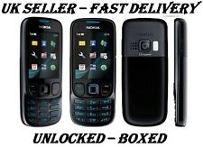 NEW CONDITION NOKIA 6303i CLASSIC MATT BLACK UNLOCKED PHONE -BLUETOOTH  3.2 MP