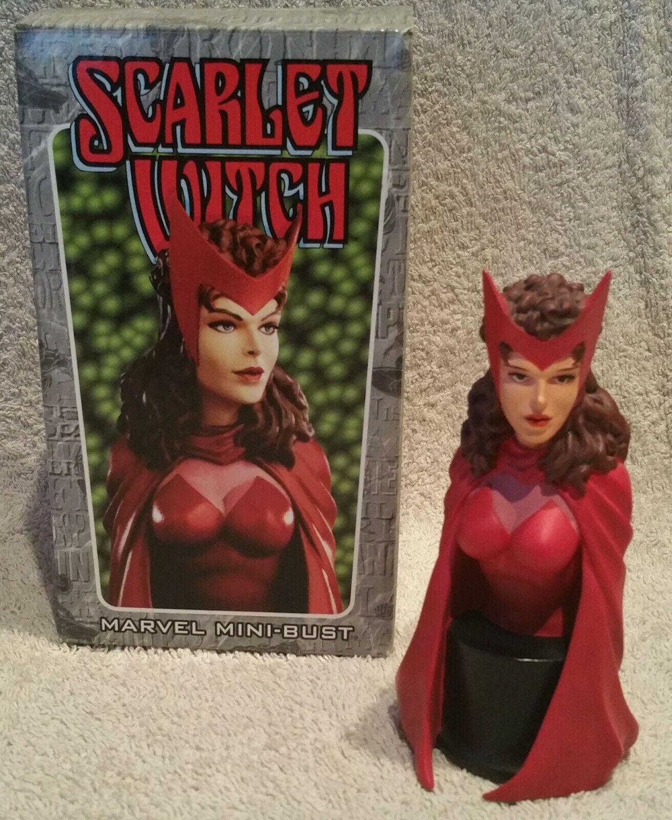 Busto LA BRUJA ESCocheLATA (SCochelet Witch - X-Men Vengadores) Bowen Designs 2000.
