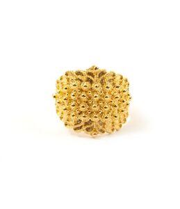 design exquis grand choix de conception de la variété Dettagli su Marrocu Gioielli - Fede sarda campidanese argento dorato 4 fili