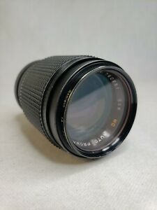 Mc-Auto-Promaster-Samigon-1A-135-mm-Japan-1-2-8-No-760691-Vintage-Camera-Lens
