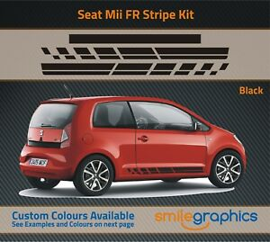 SEAT-Mii-FR-Raya-Kit-Stickers-DECALS-Otros-Colores-Disponibles