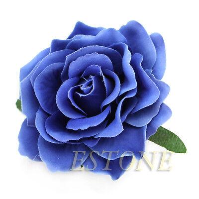 Elegant Rose Flower Corsage Hair Clip Bridal Wedding Party Hairpin Brooch Hot