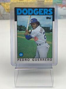 SHIPS SAME DAY Topps 1986 Baseball Card NM Pedro Guerrero #145 LA Dodgers