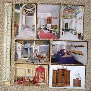 """1920 S Queen's Maison De Poupées Tuck """"oilette"""" Post Cards British Empire Exhibition B-afficher Le Titre D'origine"""