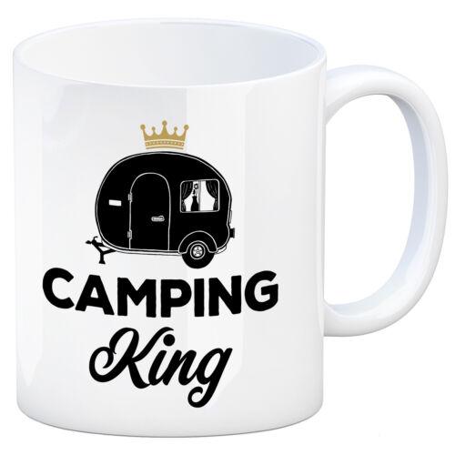 Kaffeebecher Wohnwagen Kaffeetasse Tasse Wohnmobil Zelt Natur Camping King