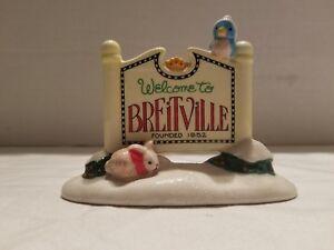 Breitville-Enesco-Town-Sign-NIB