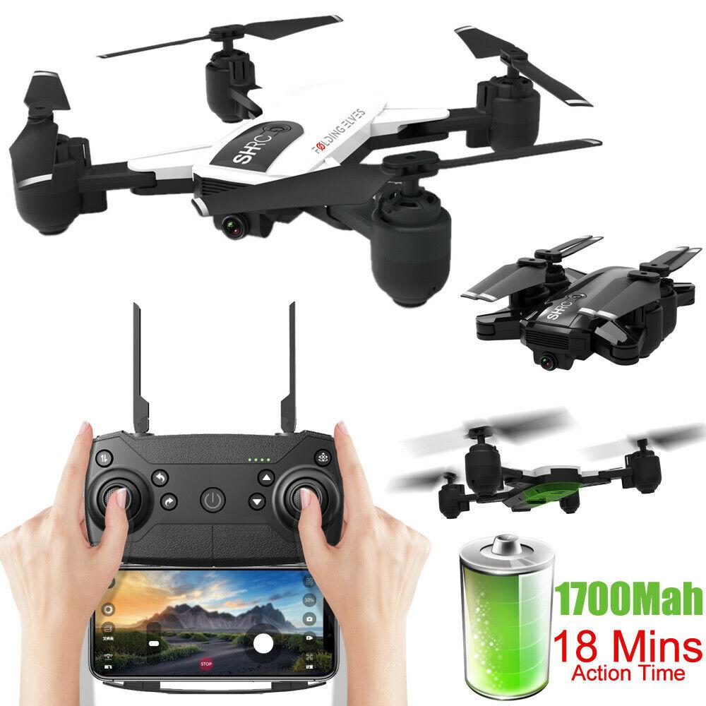 Drone WIFI 1080P telecamera FPV Altitude  Hode Optical Flow Foldable Selfie Drone AUS  ti aspetto