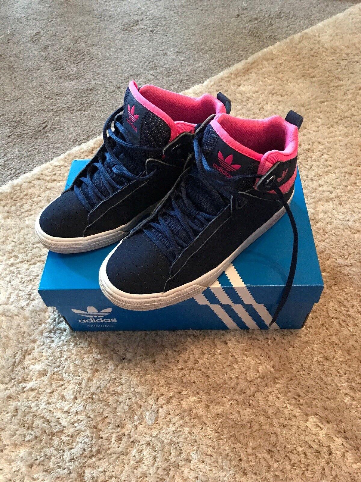 Señoras / chicas mayores botas Adidas Mid Hi Top botas mayores comodas marca de descuento c85d64