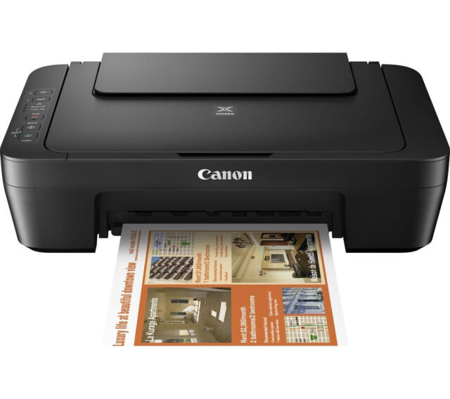 01 CANON Pixma MG2550s All in One PRINTER SCANNER COPIER + USB and Power leads