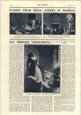 1918 Indian War Loan Outside Banque The Princess Tarakanova Flooded Cell