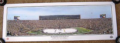 The Big Chill at The BIG HOUSE Large panoramic U of Michigan vs MSU Hockey