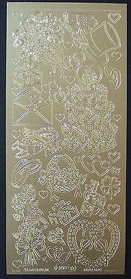 Sticker zur Hochzeit in silber & gold verschiedene zur Auswahl Hochzeitsticker