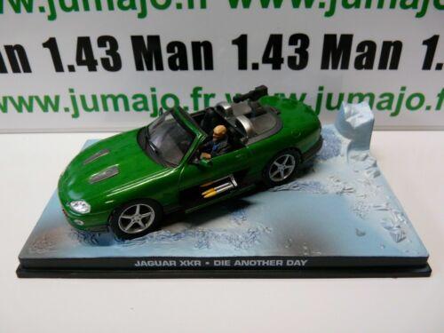 JB6 voiture 1//43 IXO 007 JAMES BOND JAGUAR XKR Die another day