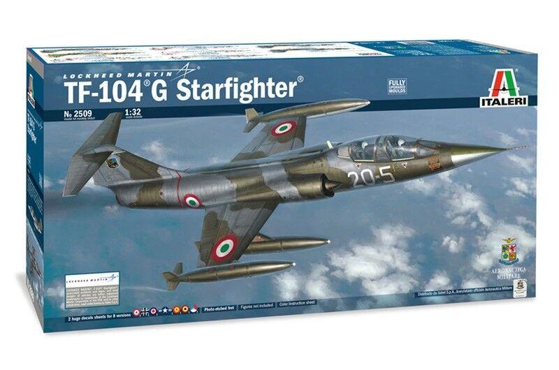 se descuenta Italeri Italeri Italeri Lockheed Martin TF-104 G Estrellafighter Ref 2509 Escala 1 32  muy popular