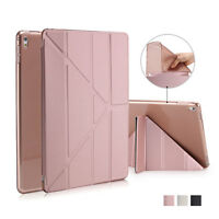 Slim Magnetic PU Leather Smart Stand Case Cover For iPad 2 3 4 Mini Air 2 Pro