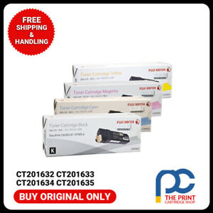 Original-Xerox-CT201632-CT201633-CT201634-CT201635-Full-Toner-Set-CYMK-CM305DF