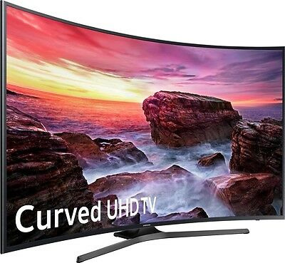 Samsung Electronics UN55MU6500 Curved 55-Inch 4K Ultra HD Smart LED TV (2017)